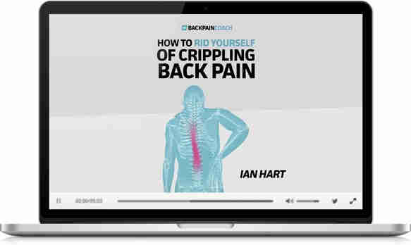 How to Rid yourself of crippling back pain